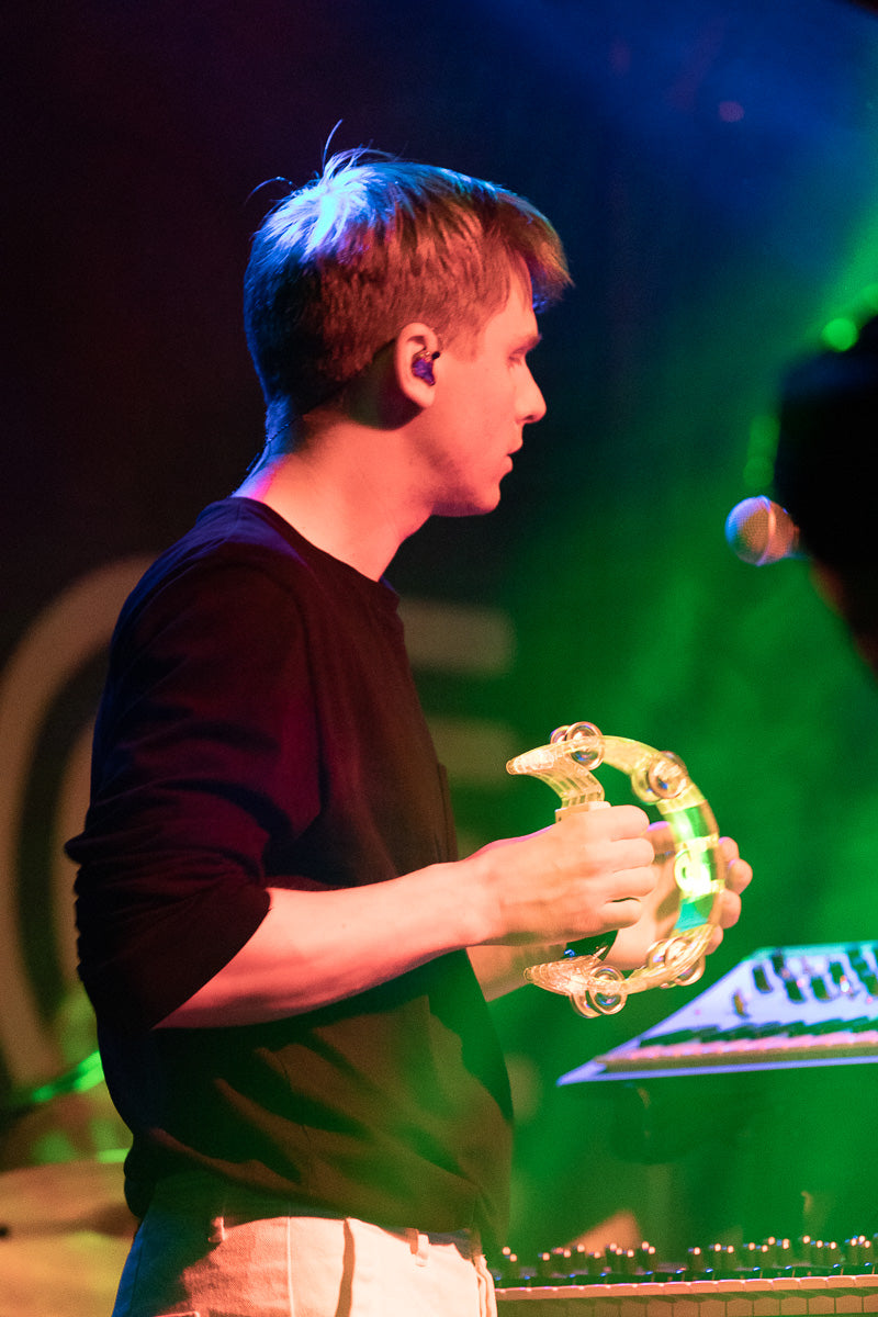 Jonny of Teleman at The Fleece in Bristol, 25th April 2019