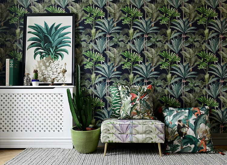 Mind the Gap Wallpaper, Accessories, Cushions, Art and Lighting