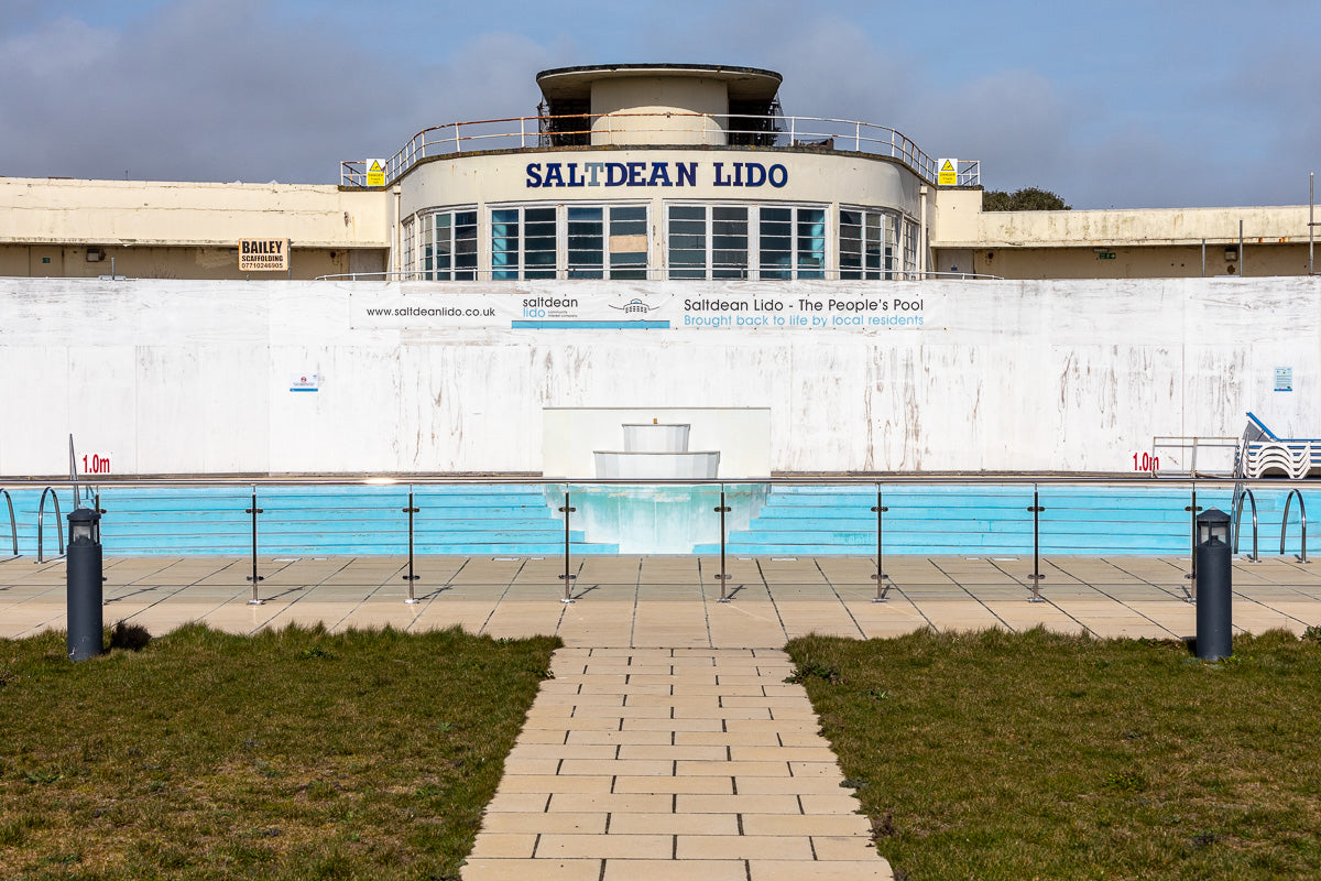Saltdean Lido pre renovations in 2019