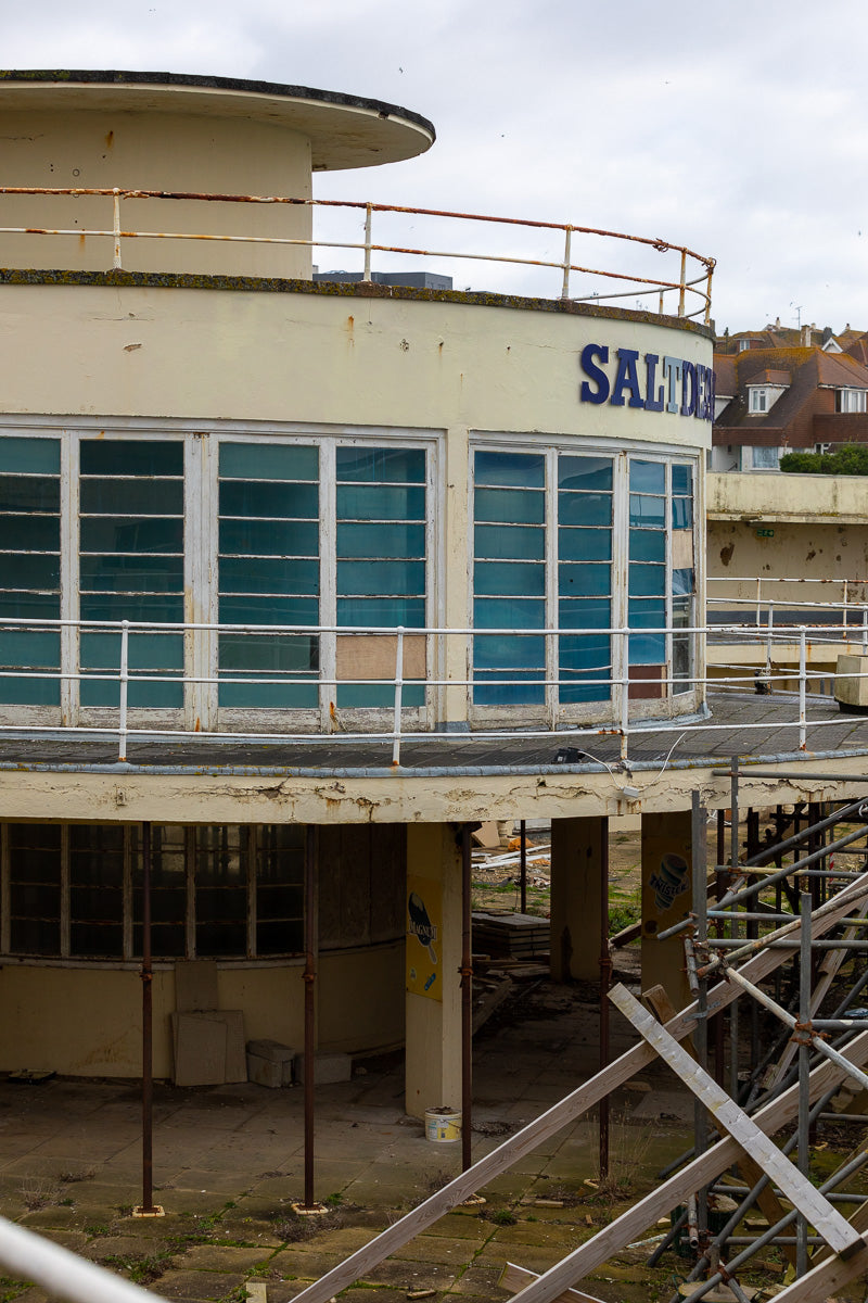 Saltdean Lido rotunda before renovations