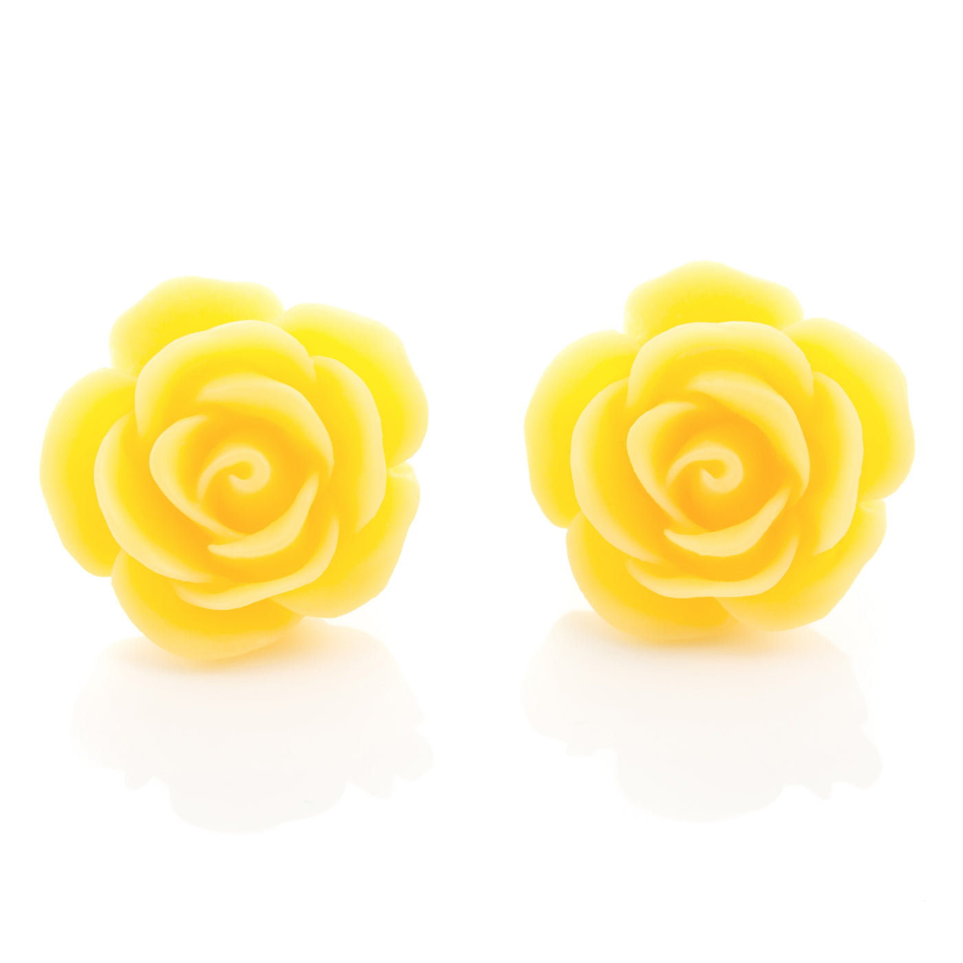 1950s Style Rose Earrings Dollydagger