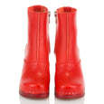 1960s Boots Red Swedish Hasbeens