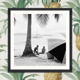 FA12746 Mind the Gap On the Beach Framed Photography Print