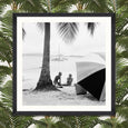 FA12746 Mind the Gap On the Beach Photography Print