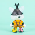 Tado Janky Vinyl Art Toy Mr Kabutomushi Superplastic