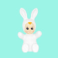 White Baby Bunny Lamp Goodnight Light
