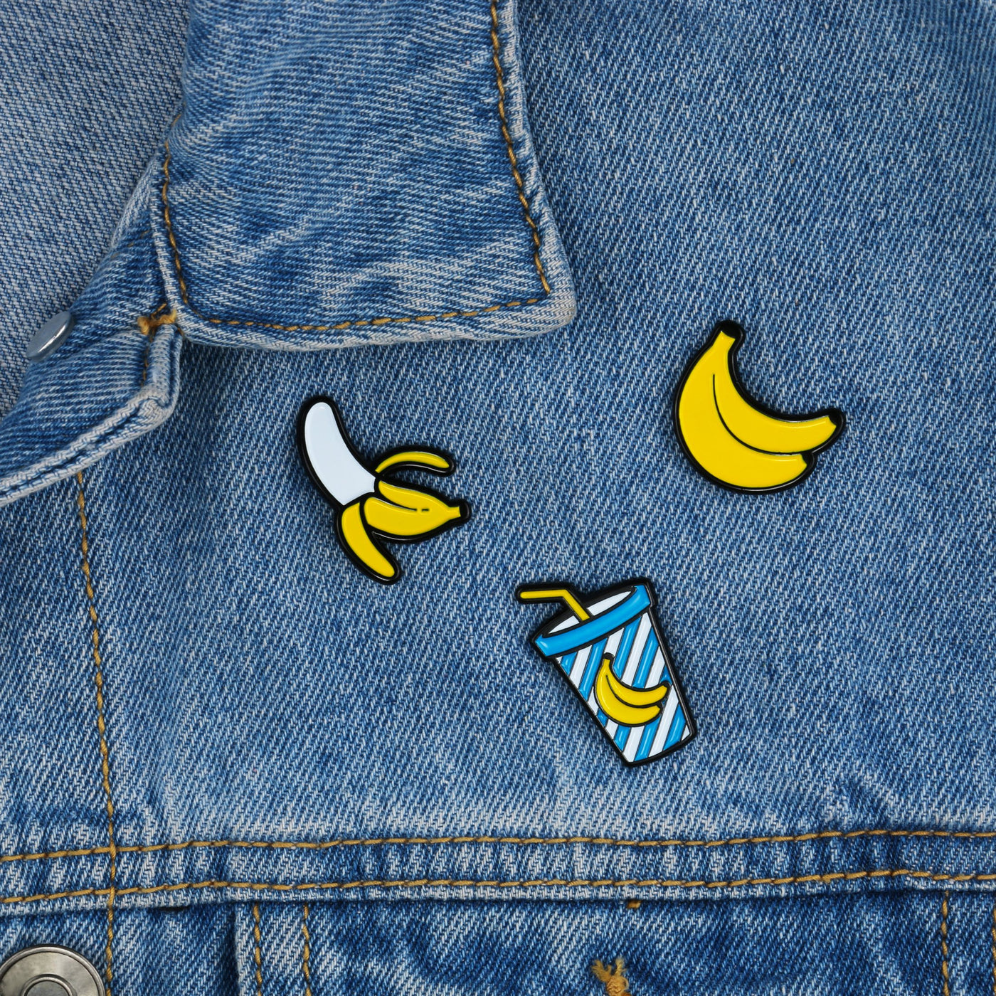 Banana Pin Badges