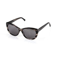 Makena Black Cat Eye Sunglasses