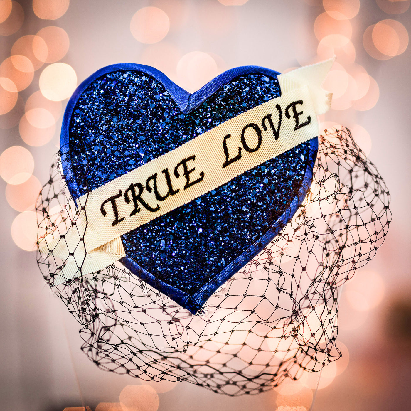 Super Glitter True Love Fascinator