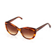 Makena Brown Cat Eye Sunglasses