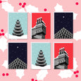 Brutalist Christmas Cards