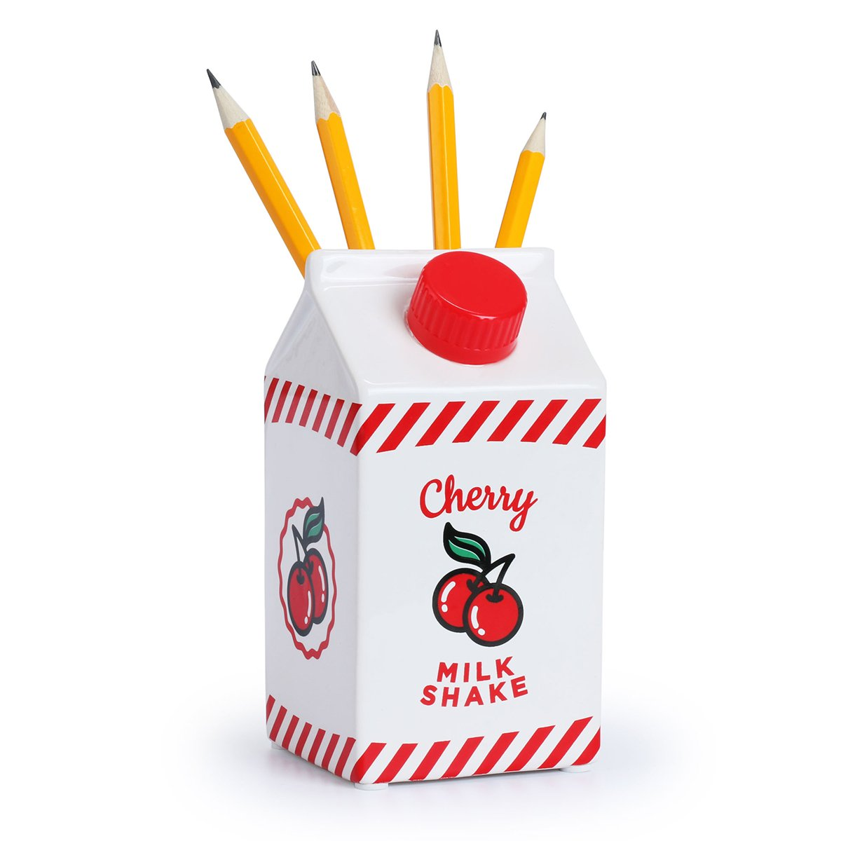 Cherry Milkshake Pen Pot