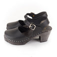 Closed Toe Clogs in Black by Lotta from Stockholm at Dollydagger