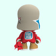 Collectible Vinyl Art Toy Superplastic Superjanky Flying Fortress Jankytrooper Red