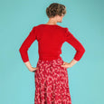 Cropped Cardigan Red Delight Daytime by Emmy