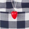 Designer Strawberry Necklace Tina Lilienthal