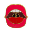 DOIY Pinaholic Mouth Enamel Pin