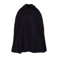 Florence Full Length Navy Wool Cape