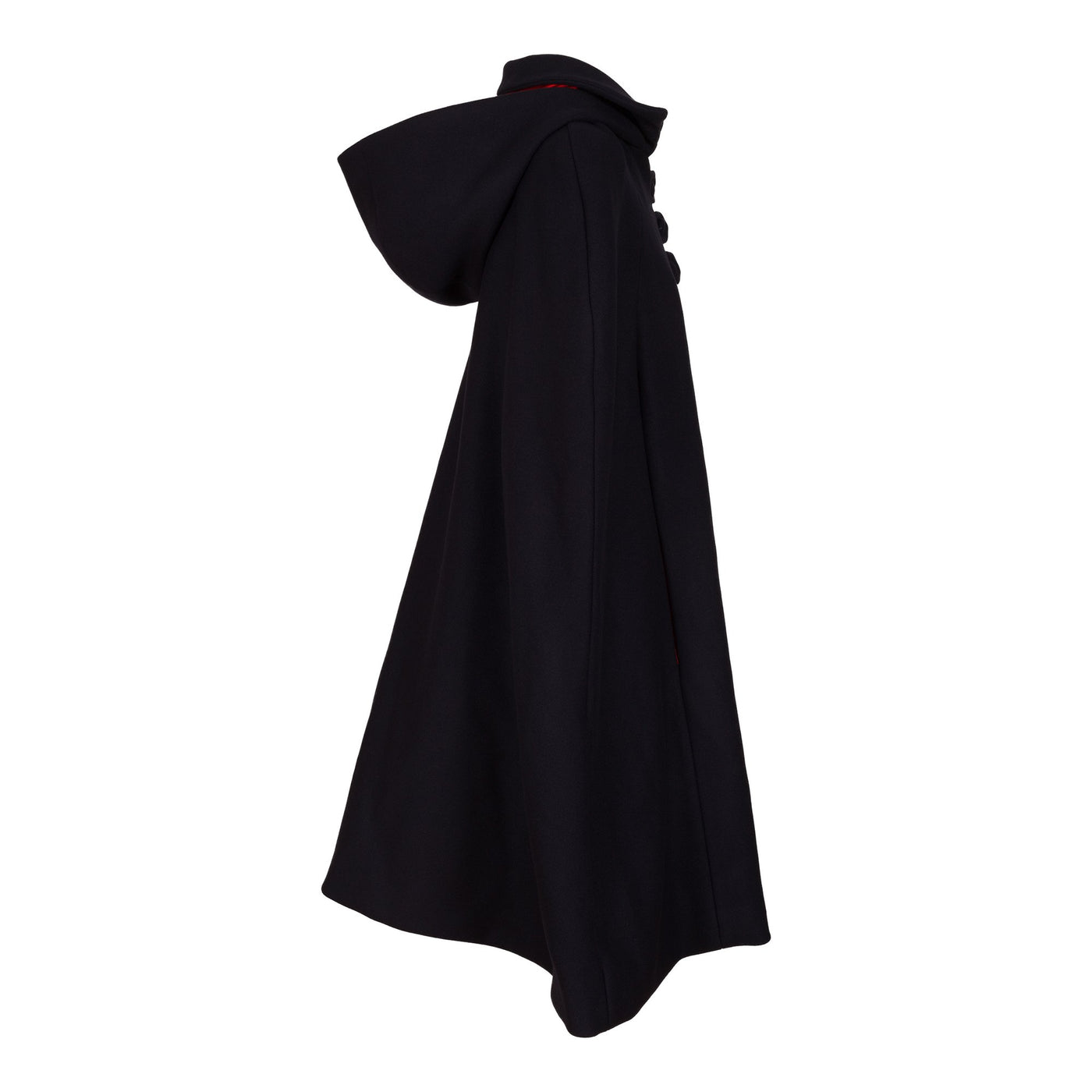 Dollydagger Florence Navy Cashmere Hooded Cape