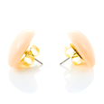 Dollydagger Lucite Heart Earrings