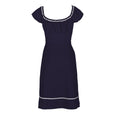 Dollydagger Polly Navy Cotton Dress