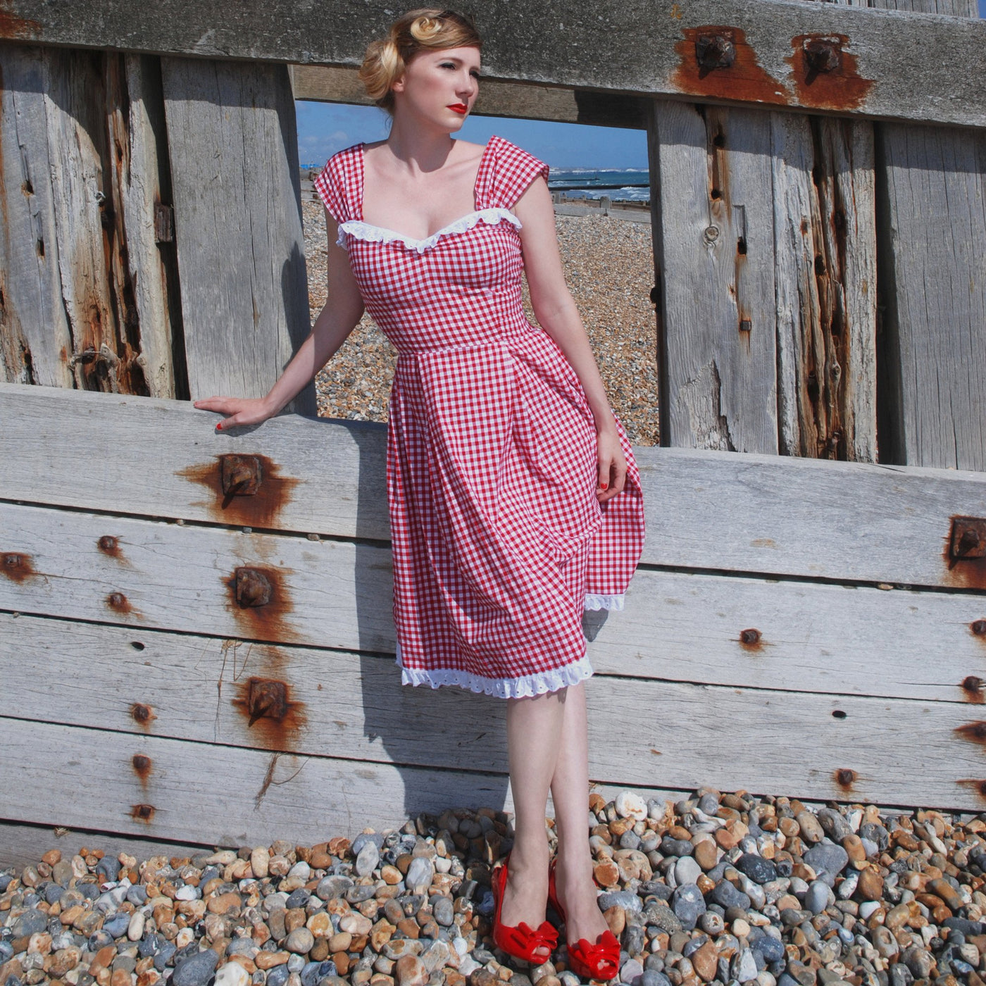 Dollydagger Doris 1950's Gingham Tea Dress