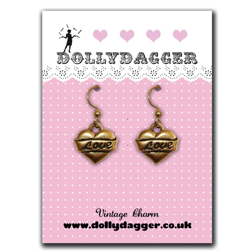 Dollydagger True Love Earrings