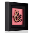 Dollydagger x Curly Mark Pink Gold Circus Ampersand