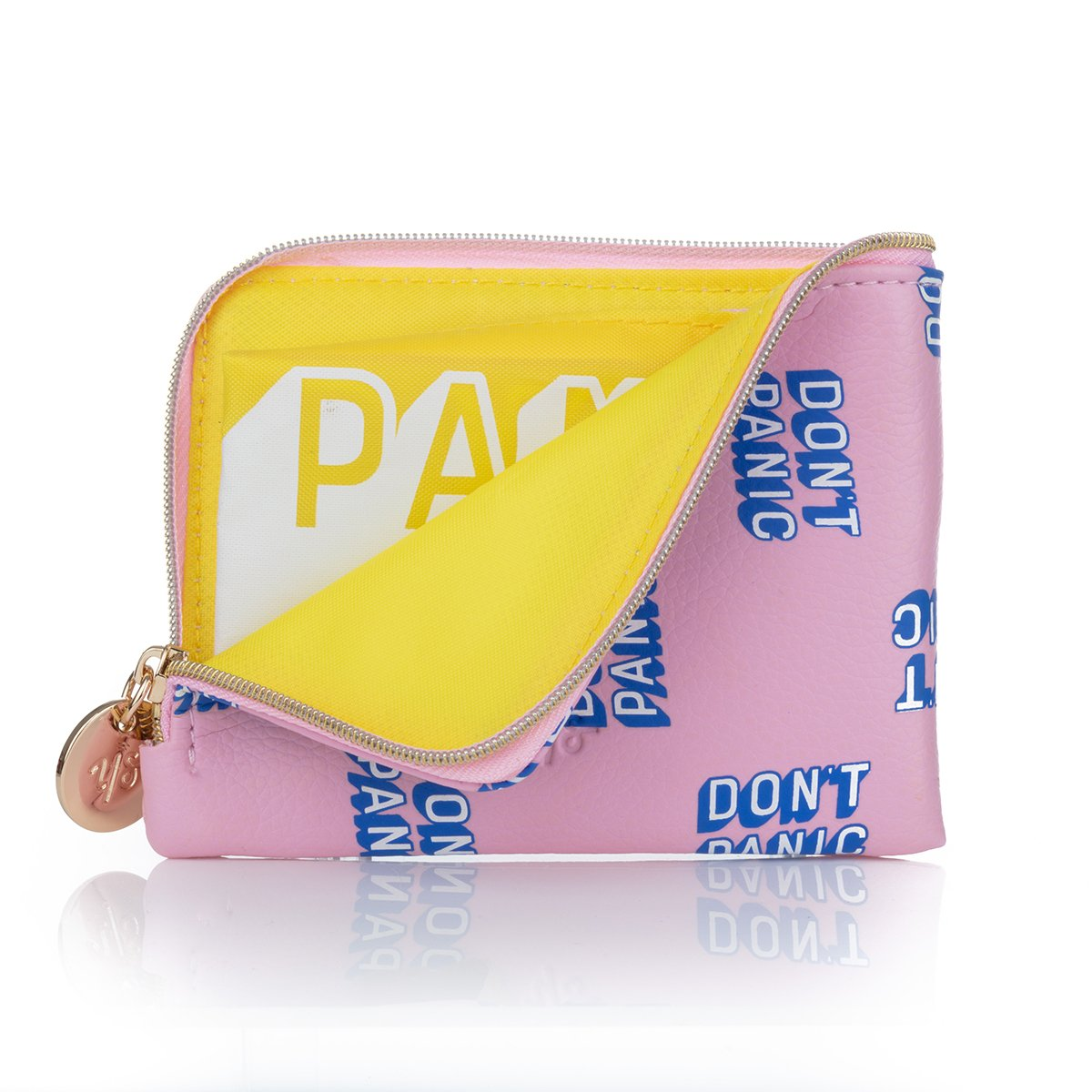 Don't Panic Coin Purse Yes Studio