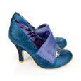 Electric Blue Flick Flack Shoes Irregular Choice