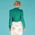 Emerald Green Peggy Sue Cardigan Emmy Design
