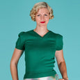 Emmy Emerald Green Sweetheart Sweater