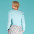 Emmy Mint Long Sleeve Delightful Daytime Cardigan