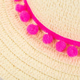 Floppy Straw Beach Hat Chloe by Dollydagger