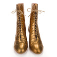 Gold Ankle Boots Miss L Fire Frida