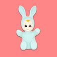Goodnight Light Mint Green Baby Bunny Lamp