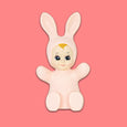Goodnight Light Pastel Pink Baby Bunny Lamp