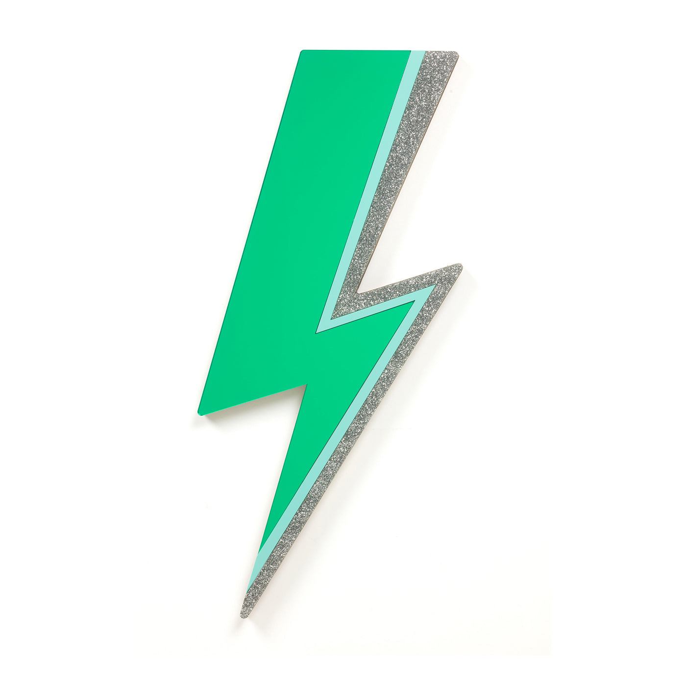 Green Lightning Bolt Mirror Rollerama