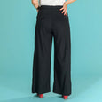 High Waisted Black Trousers Ship Mate Slacks Emmy Design