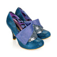 Irregular Choice Flick Flack Shoes Blue