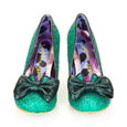 Irregular Choice Nick of Time Green
