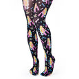 Irregular Choice Robot Tights Black