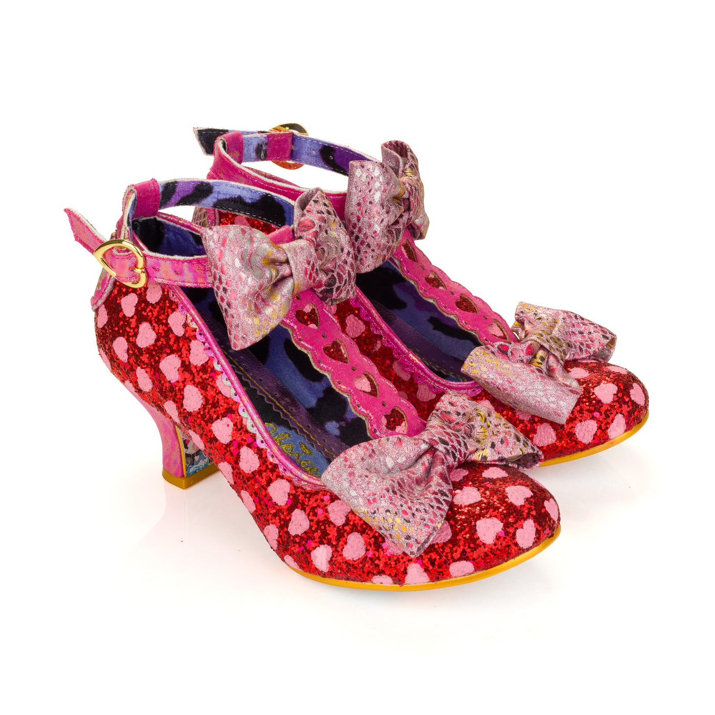 Irregular Choice Total Freedom Red Pink