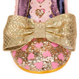 Irregular Choice Total Freedom Shoes Gold Pink