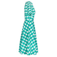 Katie Green Gingham Dress