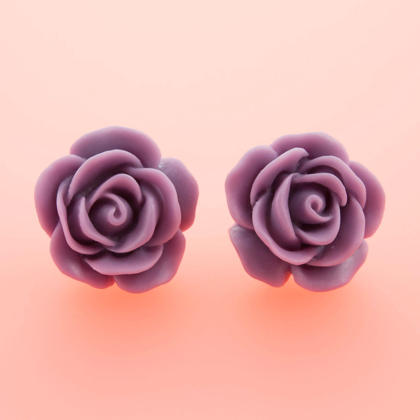 Lilac Rose Earrings Dollydagger