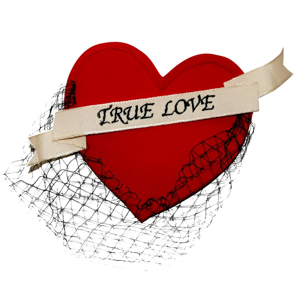 Dollydagger True Love Heart Fascinator