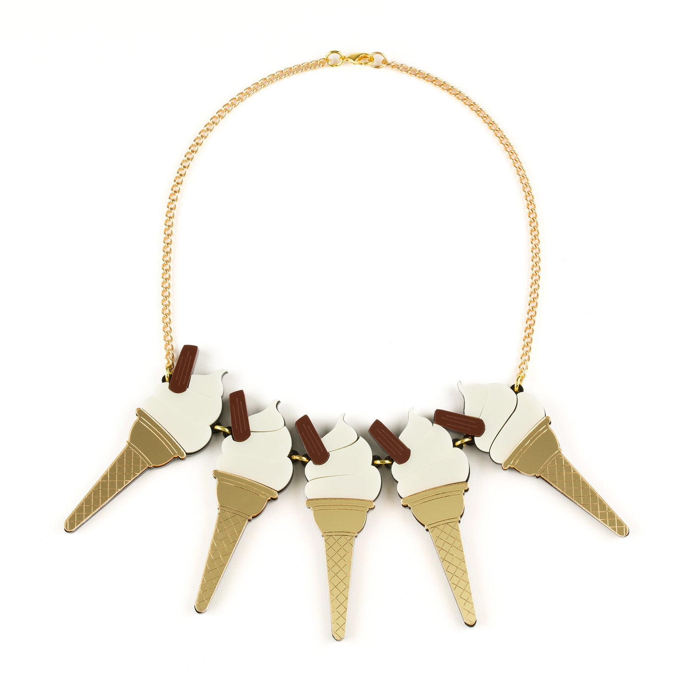Lou Taylor 99 Ice Cream Necklace