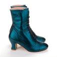 Metallic Lace Up Ankle Boots Frida Miss L Fire
