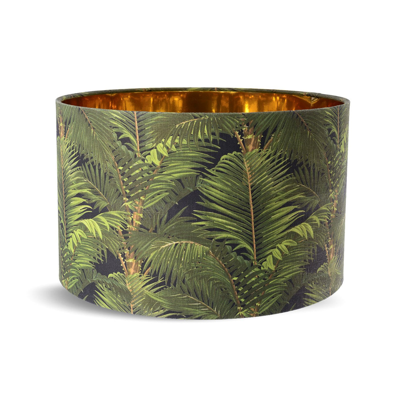 Mind the Gap Jardin Tropical Drum Lampshade LS30059